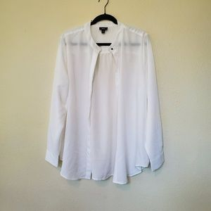 Mossimo button front shirt